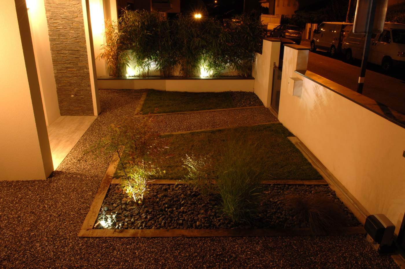 Clairage ext rieur all e eclairage ext rieur for Luminaire allee jardin