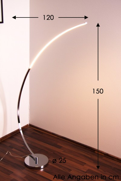 photo lampadaire sol led