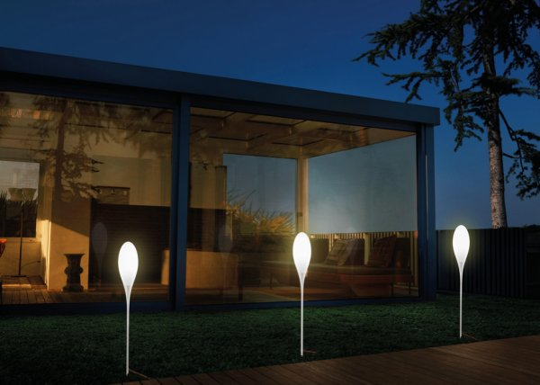 visualiser lampadaire terrasse