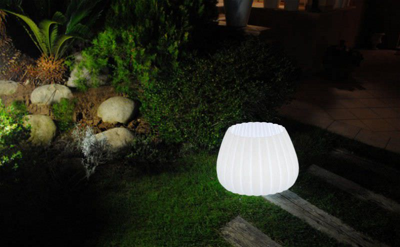Lampe jardin led eclairage ext rieur for Lampe jardin
