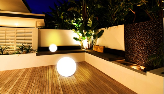 Clairage terrasse design eclairage ext rieur for Lumiere terrasse led