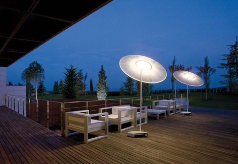lampadaire exterieur terrasse. Black Bedroom Furniture Sets. Home Design Ideas