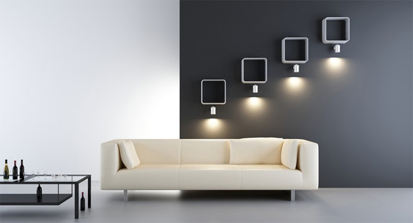 lampe all e mural eclairage ext rieur. Black Bedroom Furniture Sets. Home Design Ideas