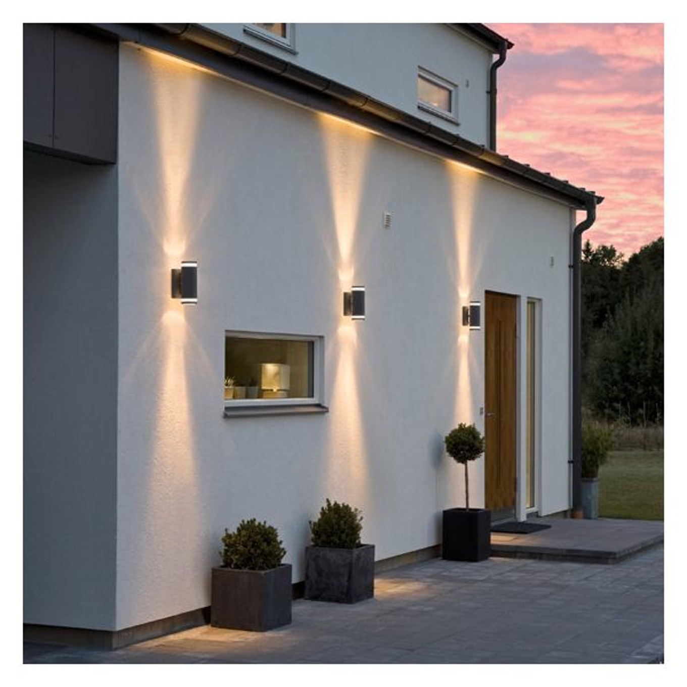 fabulous luminaire jardin avec dtecteur with applique luminaire leroy merlin. Black Bedroom Furniture Sets. Home Design Ideas