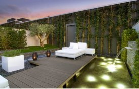 illustration luminaire terrasse design
